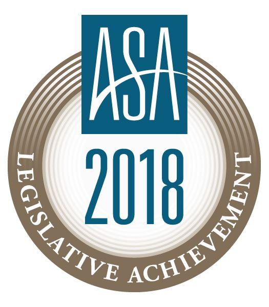 NJSA ASA 2018 Legislative Achievement Award Logo